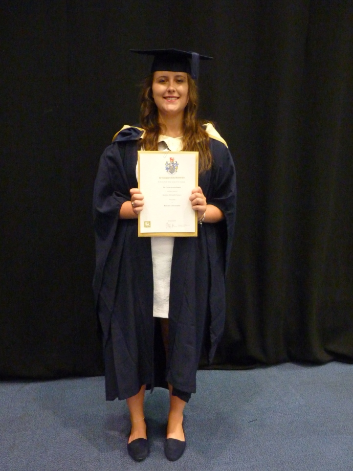 Ella Robson - Graduation, September 2014