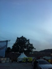Backstage at Fusion Festival