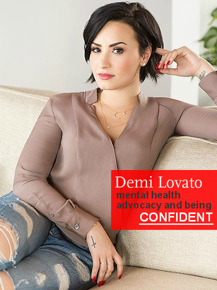 Demi Lovato is Confident
