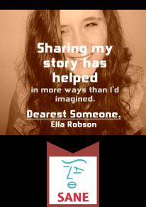 Ella Robson (creator of Dearest Someone,)