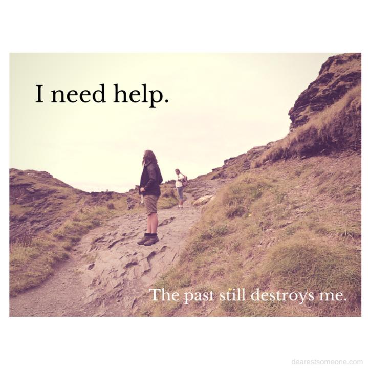 """I need help.-"