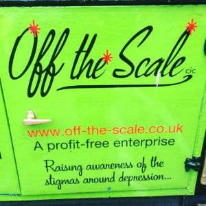 Off the Scale bus exterior