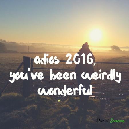Adios 2016